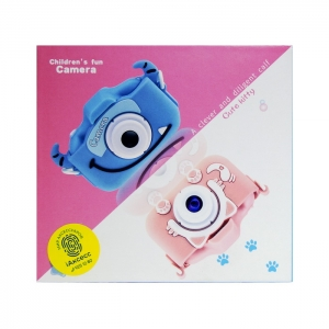 Фотоаппарат детский Childrens Fun Camera 3 голубой