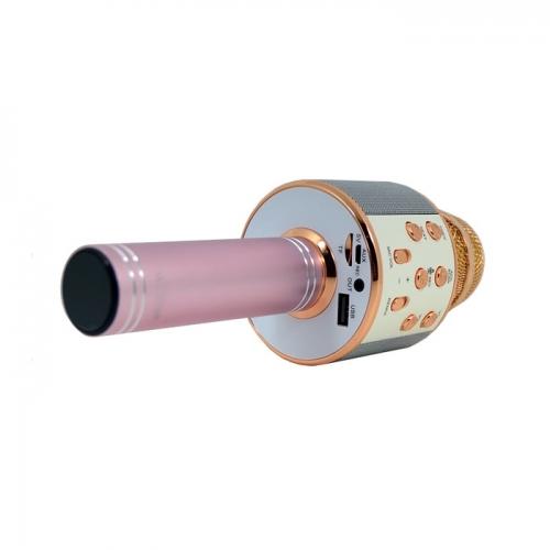 Караоке-микрофон беспроводной WSTER WS-858 золотой