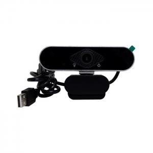Веб-камера Full HD 1080p черно-серебристая