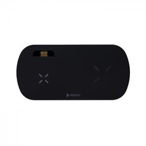 Беспроводная зарядная станция Deppa 24011 3 в 1 для Samsung Galaxy S, Galaxy Buds и Galaxy Watch (черная)