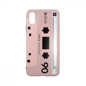 Чехол-игрушка для Apple iPhone X/Xs Аудиокассета 90