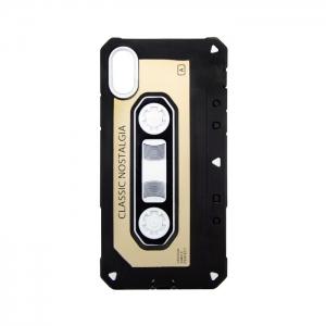 Чехол-игрушка для Apple iPhone X/Xs Аудиокассета