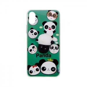 Чехол-игрушка для Apple iPhone X/Xs Панда Антистресс