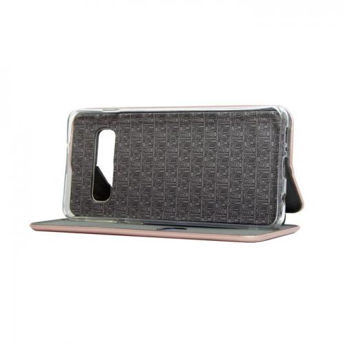 Чехол-книга Fashion Case для iPhone 11 Pro Max розовое золотой