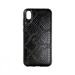 Накладка для Samsung J5 Prime/G570F под кожу змеи черная