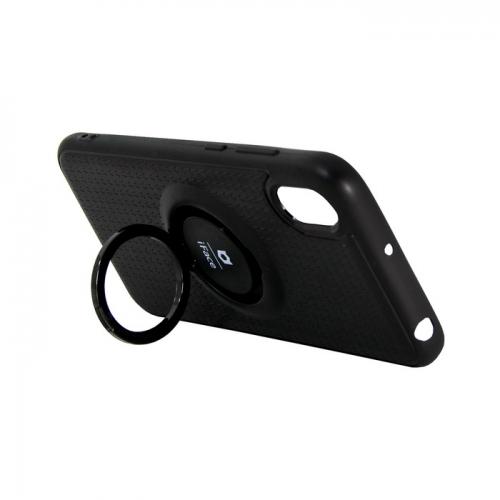 Накладка iFace для Samsung G530/J2 Prime с кольцом черная