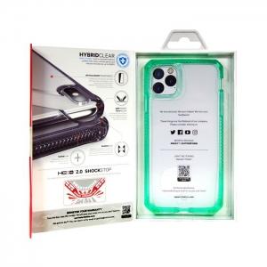 Накладка ITSKINS HYBRIDE CLEAR для iPhone 11 Pro Max прозрачный/мятный