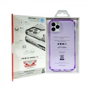 Накладка ITSKINS SPECTRUM CLEAR для iPhone 11 Pro Max фиолетовый