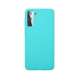 Накладка Deppa Liquid Silicon Pro 870026 для Samsung S21 Plus/G996B мятный цвет
