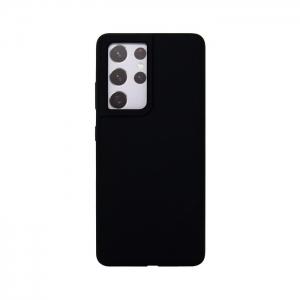 Накладка Deppa Liquid Silicon Pro 870011 для Samsung S21 Ultra/G998B черная