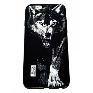 Накладка LUXO для Samsung J2 Core/J260F волк D9
