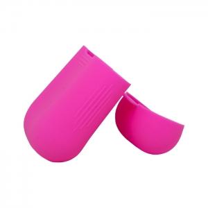 Чехол силиконовый для AirPods 1/2 розовый