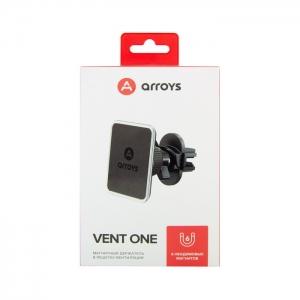 Автомобильный держатель магнитный Arroys VENT ONE (воздуховод)
