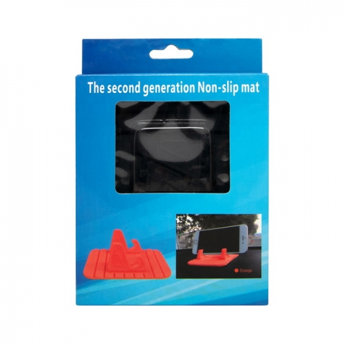 Автомобильный держатель-коврик Non-slip mat черный (торпеда)