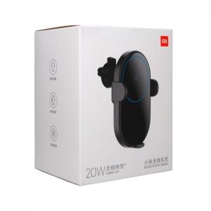 Автомобильный держатель с беспроводной зарядкой раздвижной Xiaomi WCJ02ZM 20W (воздуховод/торпеда)