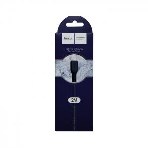 Кабель USB lightning для iPhone/iPad HOCO Snowy Spirit X20 2м (черный)