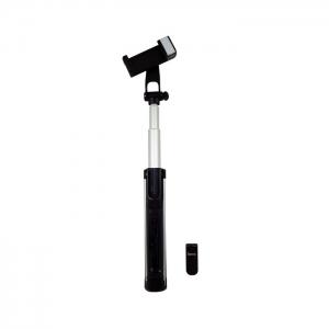 Монопод для селфи с триподом HOCO K10A беспроводной (серебристый)