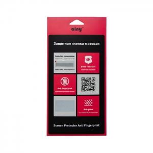 Защитная пленка Ainy для Apple iPhone 7Plus/8 Plus (задняя крышка) матовая