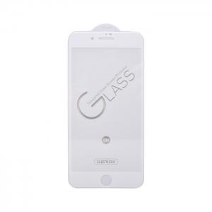 Защитное стекло 3D Remax GL-27 для Apple iPhone 6/6S белое