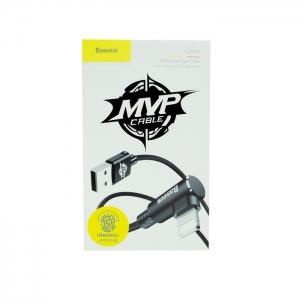 Кабель USB lightning для iPhone/iPad Baseus MVP CALMVP-01 1m (черный)