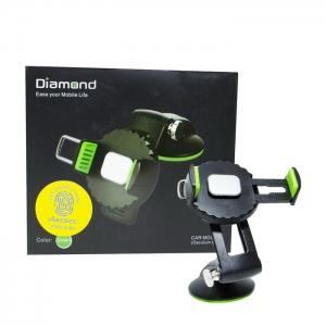 Автомобильный держатель раздвижной Diamond Q001 (стекло)