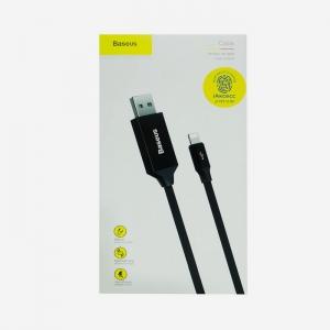 Кабель USB lightning для iPhone/iPad Baseus CALYW-M01 5m (черный)