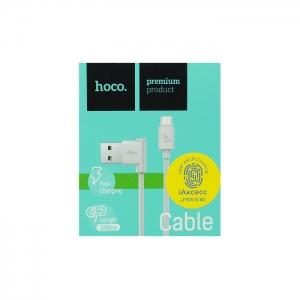 Кабель USB Micro HOCO UPM10 1.2m (белый)
