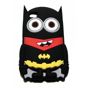 Чехол-игрушка для iPhone 4/4S Миньон Бэтман