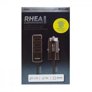 Автомобильное зарядное устройство Remax RCC40i 2.4 A (черное)