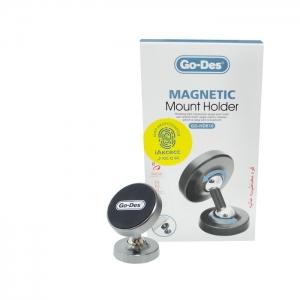 Автомобильный держатель магнитный Go-Des GD-HD610 (торпеда)