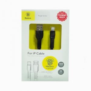 Кабель USB lightning для iPhone/iPad Baseus CALZY-B01 1m (черный)