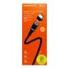 Кабель USB Micro магнитный Borofone BU16 1.2m плетеный (черный)