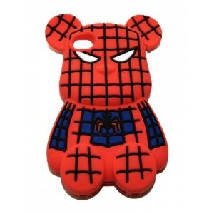 Чехол-игрушка для iPhone 4/4S Spiderbear в синем